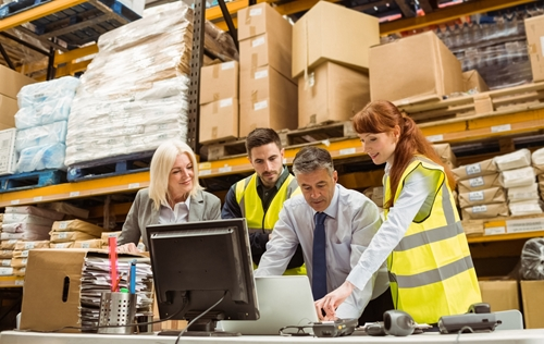 A fulfillment partner keeps a company's warehousing and distribution on track.