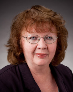 headshot of pam prather, human resources manager